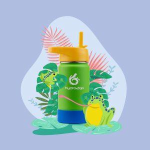 trinkflasche kinder frosch