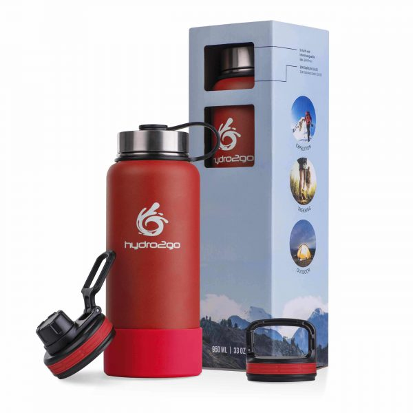 thermos 1l red
