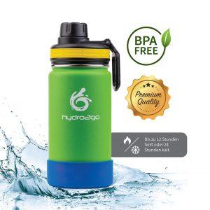 kinder trinkflasche bpafrei grün