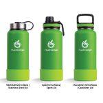 sportflasche grün