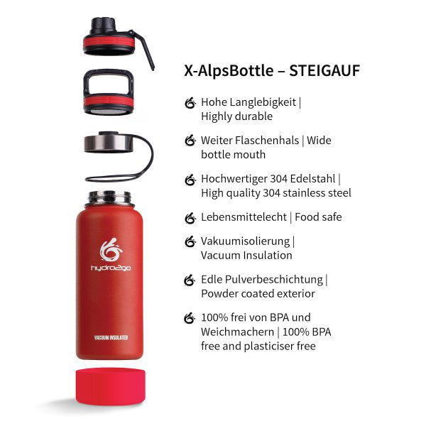 thermos outdoor red