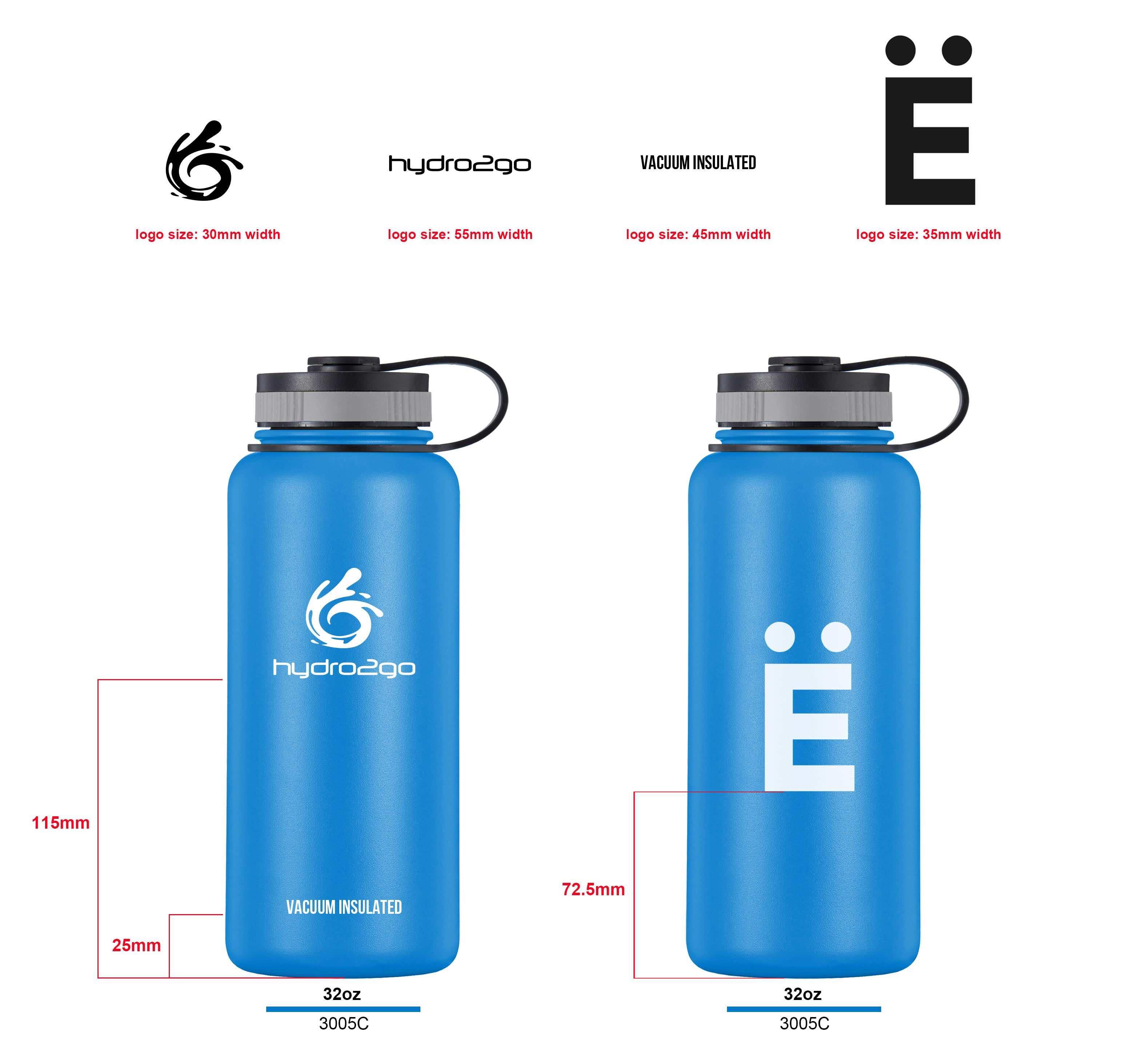 Co-branding bottles