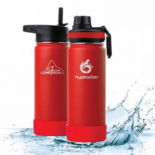 co-branding trinkflasche outdoor sport freunde