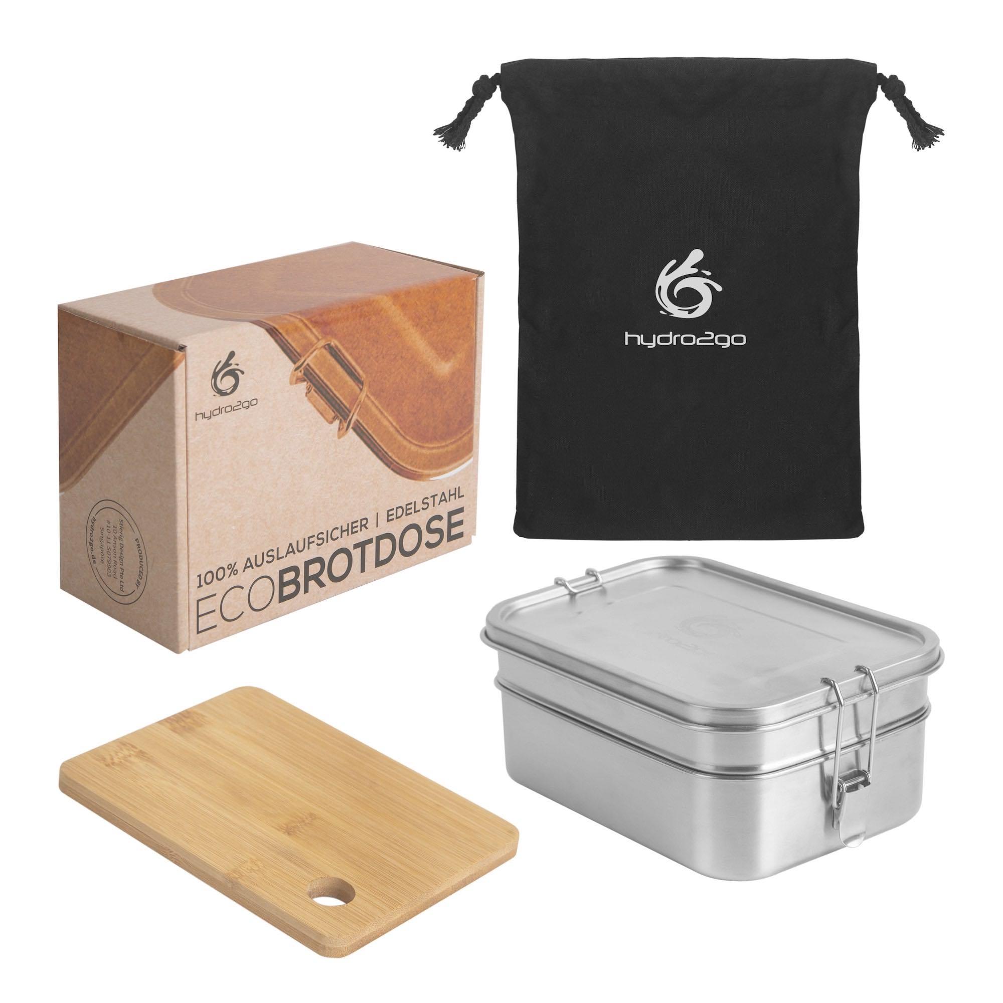 lunchbox edelstahl hydro2go