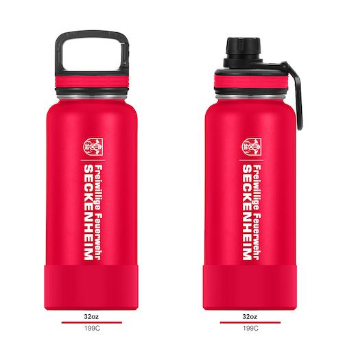 freiwillige feuerwehr trinkflasche