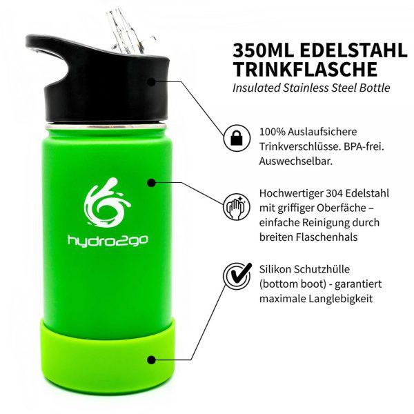 trinkflasche kinder auslaufsicher grün